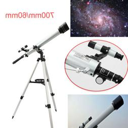 700/ 60mm 525X Refractive Astronomical Telescope With Tripod