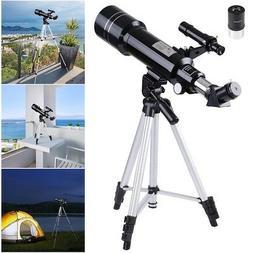 400/70mm Astronomical Refractor Telescope Refractive Eyepiec
