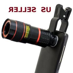 8x Zoom Telescope Lens Clip On Photography For Mobile Phone