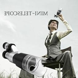 Portable 8X20 Mini Monocular Telescopes W/Magnifying Cover F