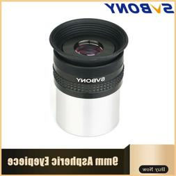 SVBONY 9mm 72°Wide Angle Aspheric Eyepiece HD FMC Lens for