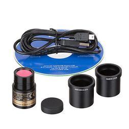 AmScope 5.0 MP USB Still & Live Video Microscope Imager Digi