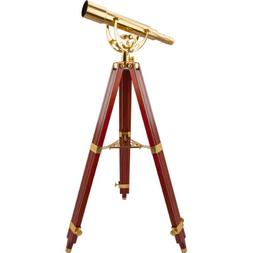 BARSKA Anchormaster 15-45x50 Spyscope w/ Mahogany Floor Trip