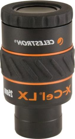 Celestron X-Cel LX Series Eyepiece - 1.25-Inch 25mm 93426