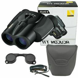 Nikon Aculon T11 8-24x25mm Zoom Binoculars, Black