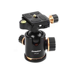 Pergear TH3 Pro DSLR Camera Tripod Ball Head, 8KG/17.6lbs Lo
