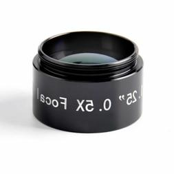 """Solomark Multi-Coated 1.25"""" 0.5x Focal Reducer Telescope Eye"""