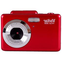 "Vivitar 16.1mp Camera + 2.4"" tft Panel, Colors/Styles May Va"