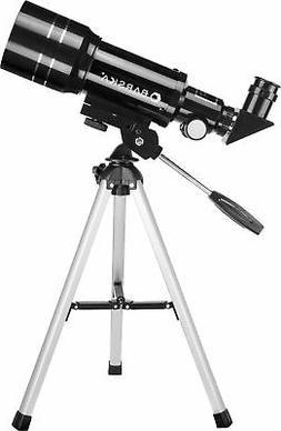 BARSKA AE12932 30070-225 Power Starwatcher Telescope, Black