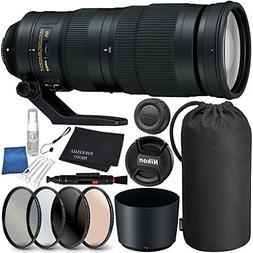 Nikon AF-S NIKKOR 200-500mm f/5.6E ED VR Lens Bundle with Ma