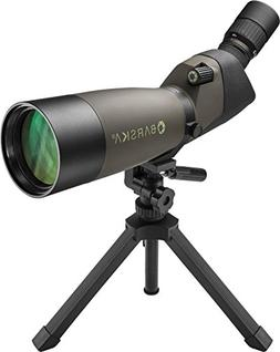 BARSKA 20-60x 80mm Angled Eye Piece Spotting Scope Porro Pri