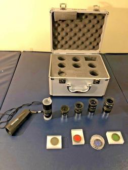 Antares Deluxe Meade/Celestron Telescopes Eyepiece & Filter