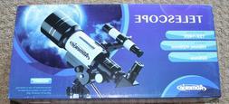 AOMEKIE 70MM PORTABLE TELESCOPE AO2001 15X-140X 70MM 300MM M