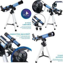 Aomekie Kids Telescope For Astronomy Beginners Refractor Tel