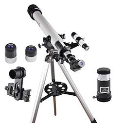 60mm Aperture AZ Astronomical Telescope 60x700mm Refractor T