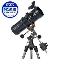 Celestron AstroMaster 114EQ Reflector Telescope Planetarium
