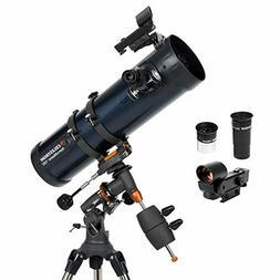 Celestron - AstroMaster 130EQ Newtonian Telescope - Reflecto