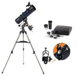 Celestron AstroMaster 130EQ with Eyepiece Kit, Model 32046