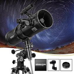 astronomical reflector telescope for adults 130 eq