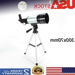 Astronomical Refractor Telescope 300x70mm Refractive Eyepiec