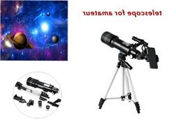 Astronomical Refractor Telescope with Tripod Adapter Greenha