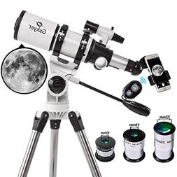 Gskyer Astronomical Refractor Telescope, Portable Travel Tel