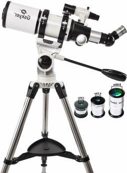 Gskyer Astronomical Telescope 80 Refraction Aperture 80mm Fo