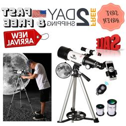 Astronomical Telescope w/SMARTPHONE Photo Adapter Travel Sco