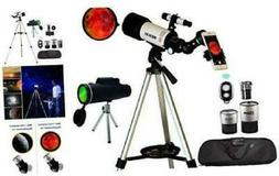 astronomical telescopes monocular travel scope 70mm aperture
