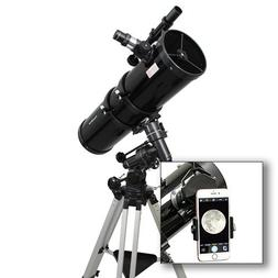"AstroVenture 6"" Newtonian Reflector Telescope With Universal"