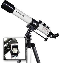 Twin Star 70mm Refractor Telescope 700mm f10 Focal Length |