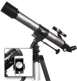 AstroVenture 70mm Refractor Telescope With Universal Smartph