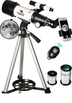 Beginners Telescope, 70mm Aperture 400mm wireless Astronomic
