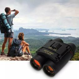Binoculars 30x60 Zoom Outdoor Travel Compact Folding Telesco