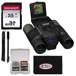 Vivitar 12x25 Binoculars with Built-in Digital Camera with 8
