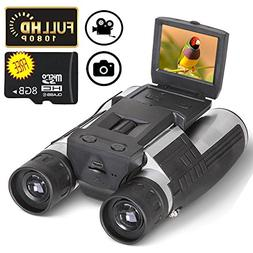"Ansee Digital Binoculars Camera Telescope Camera 2"" LCD Disp"
