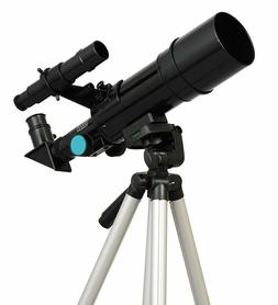 Black Twinstar 60mm Compact Kids Telescope