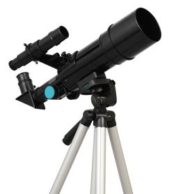 Black Twinstar 60mm Compact Kids Refractor Telescope
