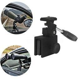 Black Vehicles Car Window Mount For Camera Monocular Telesco