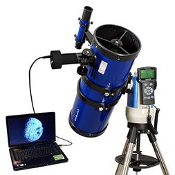"Blue 6"" Computer Controlled Reflector Telescope with 14MP Di"