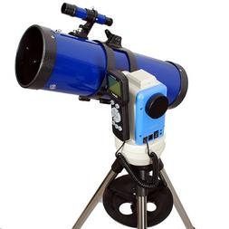 "TwinStar Blue 6"" iOptron Computerized GPS Reflector Telescop"