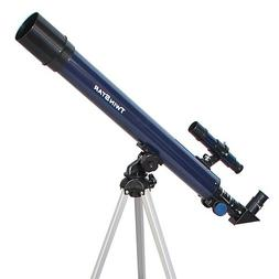 Blue TwinStar AstroMark 50mm 75x Power Refractor Telescope