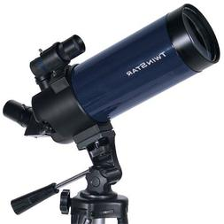 Blue TwinStar 90mm Cassegrain Telescope