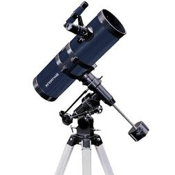 "TwinStar Blue 4.5"" Reflector Telescope Fast f/4.4 EQ Mount"