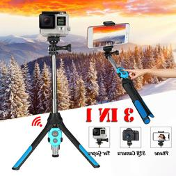 bluetooth Telescopic Arm Selfie Stick Tripod Remote Wireless