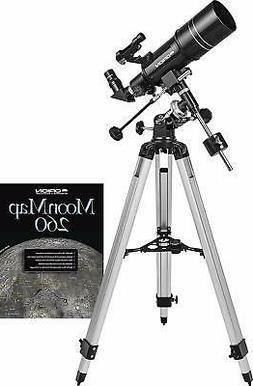 Brand New Orion Observer 80ST 80mm Equatorial Refractor Tele
