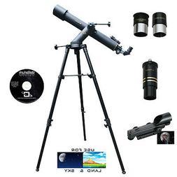 CASSINI C-80072TR - 800mm X 72mm Astro Terrestrial Refractor