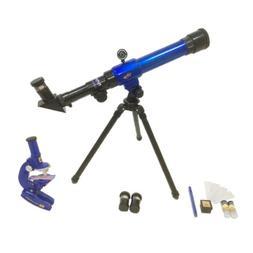 C2110 Astronomical Refractor Telescope & Microscope for Kids