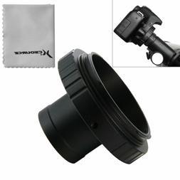 Camera Lens Adapter T-Ring for Canon DSLR SLR + 1.25 inch Te