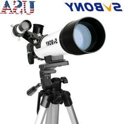 SVBONY Compact Kids Refractor Telescope Travel Scope 60x420m